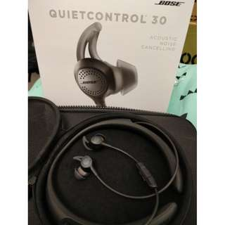 Bose QuietControl 30 Wireless In-Ear Headphones (Black)