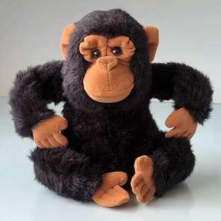 Chimpanzee Plush Monkey Plush Chimpanzee Soft Toy Monkey Soft Toy Teddy Bear Plush Teddy Bear Soft Toy Stuffed Toy Stuffed Animal Plush Toy Plushies Lovers