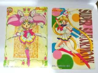Sailormoon cards (not sticker) vintage collection #July100