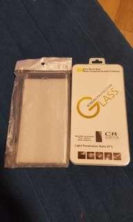Samsung c8 保護套連鋼化膜