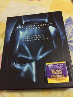 The Dark Knight Trilogy Made in USA 5 Discs Bluray
