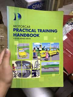 BBDC driving practical training handbook (motorcar)