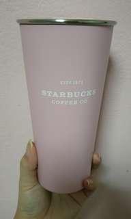 Starbucks pastel pink tumblr