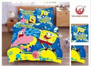 Favorite cartoon character Bedsheets