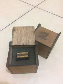 Cincin kayu unik