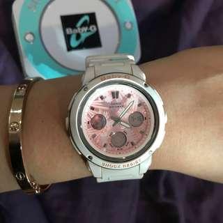 Casio Baby G / baby pink & white