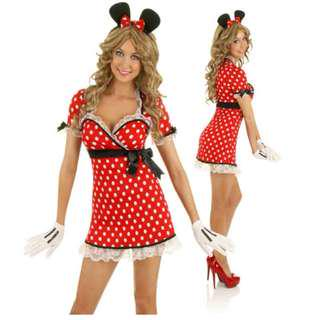 Minnie Mouse Disney women costume