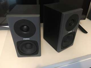 Fostex PMO professional monitor speakers