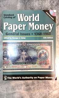 Standard Catalog of World Paper Money 1368 - 1960 12th Edition