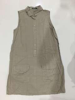 Mango army dress