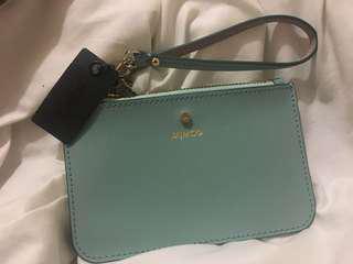 Teal Mimco wallet