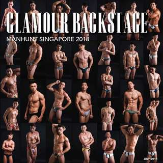 🚚 Manhunt Singapore 2018 Glamour Backstage