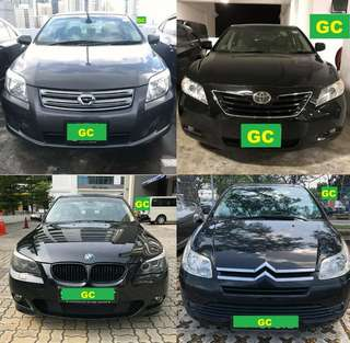Toyota Camry RENT CHEAPEST RENTAL AVAILABLE FOR Grab/Ryde/Personal USE