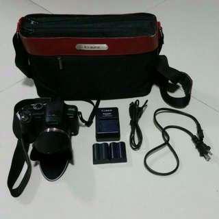 Used Panasonic Digital Camera FZ35 12MP 18x optical zoom