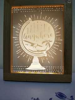 🚚 Light up frame (for room decor!! 😍)