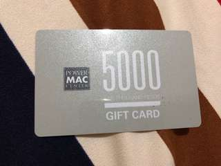 POWER MAC GIFT CARD