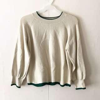Beige Pullover / Top
