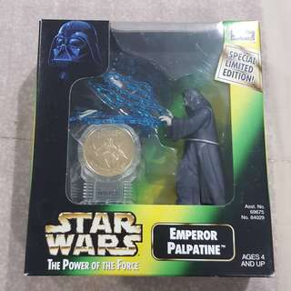 Legit Brand New Sealed Kenner Star Wars Emperor Palpatine Toy Figure