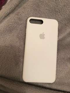 Apple | White iPhone 7/8 PLUS Silicon Case
