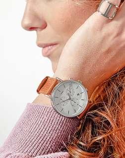 Timex Fairfield cheono watch 計時手錶 皮錶 手錶