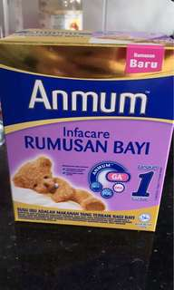 Anmum Infacare step 1 Instant Formula 200g #July100