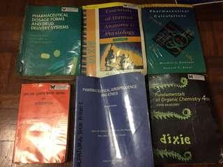 Pharmacy Books Bundle