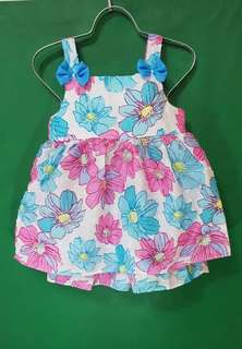 Baby Floral terno dress
