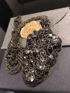 Vintage pendant on chain 復刻版吊墜長鍊