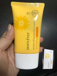 INNISFREE] Perfect UV Protection Cream Long Lasting - 50ml (SPF50+ PA++++)