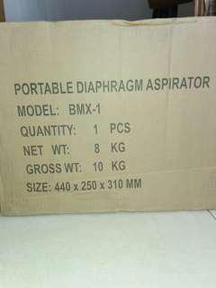 PORTABLE DIAPHRAGM ASPIRATOR BMX-1