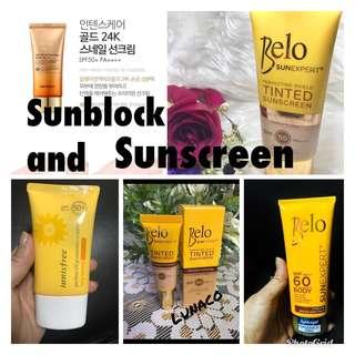 Sunblock and Sunscreen-✅INSTOCK