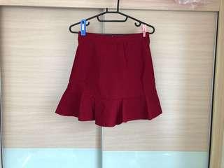 🚚 ➕限時免運➕全新紅色彈性魚尾裙