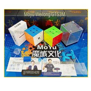 + Moyu Weilong GTS3M (Magnetic) 3x3 for sale in Singapore Moyu Weilong GTS 3M Weilong GTS3 M