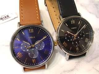 Timex Southview Multifunction watch 手錶 皮錶