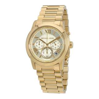 COOPER CHRONOGRAPH GOLD DIAL GOLD-TONE LADIES WATCH MK6274