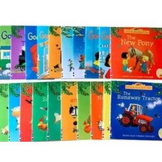 Pre-order Usborne story book series