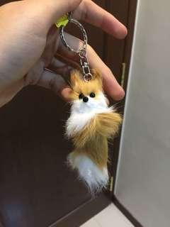 Hokkaido North Fox Keychain souvenir
