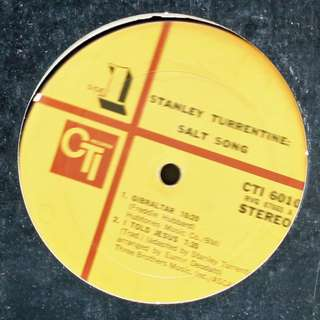 stanley turrentine Vinyl LP used, 12-inch, may or may not have fine scratches, but playable. NO REFUND. Collect Bedok or The ADELPHI.