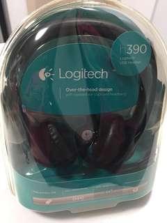 Logitech 390 USB headset