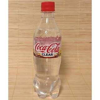 Limited stocks Coca-cola clear