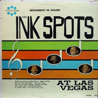 ink spots Vinyl LP used, 12-inch, may or may not have fine scratches, but playable. NO REFUND. Collect Bedok or The ADELPHI.