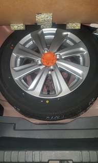 Toyota Vios Spare Tire