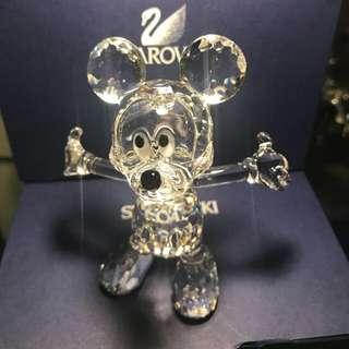 Swarovski 水晶擺設 Disney 迪士尼 絕版 施華洛世奇水晶