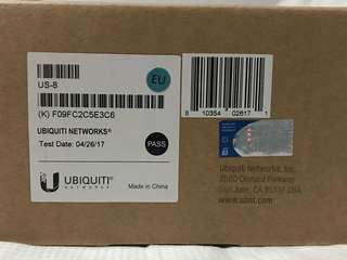 Ubiquiti Switch 8 US-8 Router