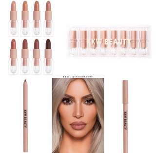 PO OPEN KKW Beauty Creme Lipstick Lip Liners