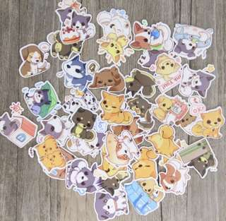 Cute Dog Tumblr Stickers (5 for $2)
