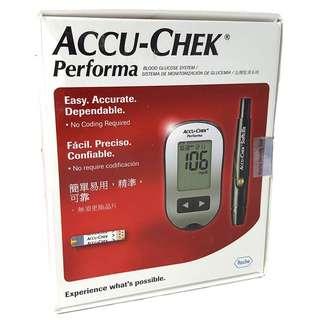 🚚 Accu Chek Performa Glucometer