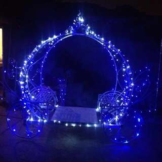 Cinderella pumpkin carriage for Rent!!Perfect for Wedding