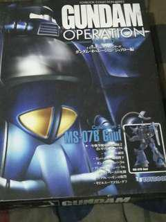 Gundam Operations Toybook Gouf