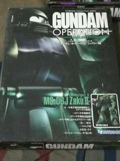 Gundam Operations Toybook Zaku II